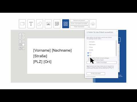 Etiketten Seriendruck aus Excel Tabelle | Software von HERMA: Etiketten Assistent Online 🏷️