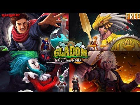 Cédric - Healing Ability @ GLADOM - Free Fighting Moba