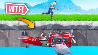 *NEW* FLYING UNDER THE MAP TRICK! | Fortnite Best Moments #96 (Fortnite Funny Fails & WTF Moments)