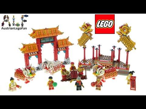 Vidéo LEGO Saisonnier 80104 : La danse du lion