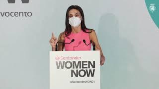 """Palabras de S.M. la Reina en el acto de clausura del """"Santander WomenNOW 2021"""""""