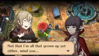 Fire Emblem Awakening - Morgan (Female) & Severa Hot-Spring