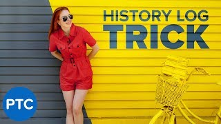 HIDDEN Photoshop Script To AUTOMATICALLY Generate Written Tutorials [HISTORY LOG Explained]