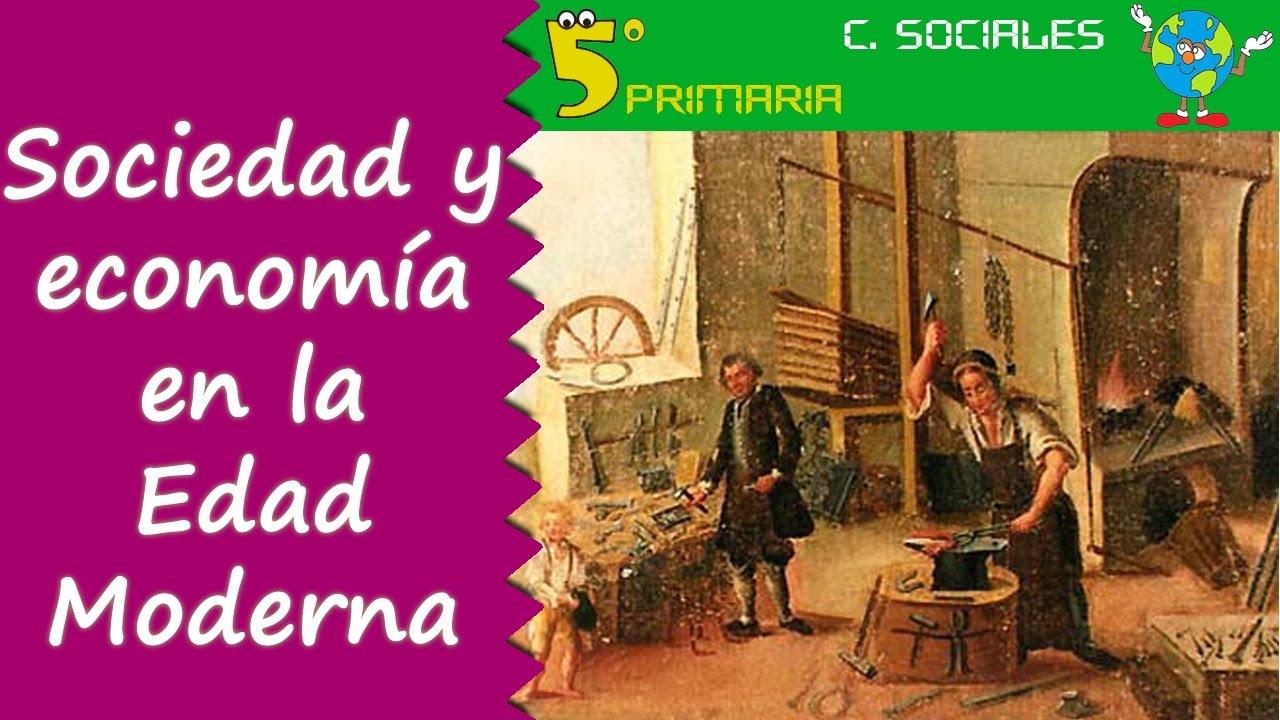 Sociedad y economía en la Edad Moderna. Sociales, 5º Primaria, Tema 8