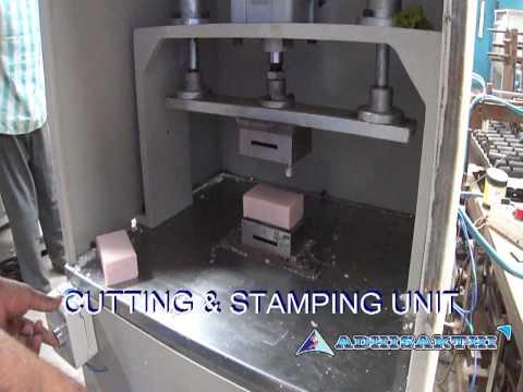 Dishwash Soap Cutting Machine