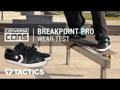 Converse Breakpoint Pro Skate Shoes Wear Test Review – Tactics.com
