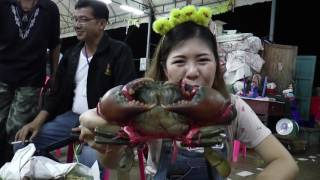 """อาหารทะเลสดๆไม่ต้องไปไกล อยู่ใน """"ตลาดสะพานปลากรุงเทพ"""" หมวยเรย์"""