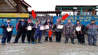 Зимние соревнование по рыбалке