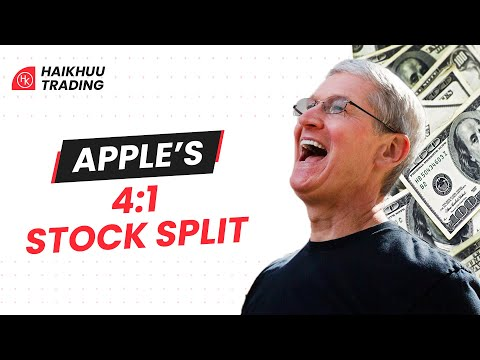 What happens to your position post Apple Stock Split