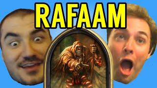 [Hearthstone] STREAMERS REACT TO RAFAAM (ft. Kripparrian, Amaz, Day9, Kibler, Savjz, Forsen)
