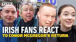 "Is Conor McGregor still big in Ireland? Do fans still care about the former two-division UFC champion? Are they excited for his return at UFC 246? MMA Fighting's Petesy Carroll asks Dublin residents what they think about ""Notorious"" these days.   Subscribe: http://goo.gl/dYpsgH