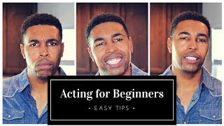 Acting Tips For Beginners