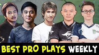 Best PRO plays of the week #9 — Dendi, Miracle, InYourDream, Attacker