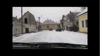 preview picture of video 'BMW E30 325i Winter Drifting Hungary'