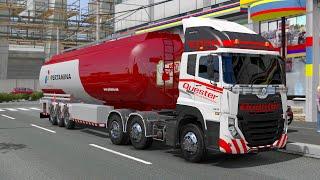 Perjalanan Truck Tangki Pertamina UD Quester ke Medan Sumatra - Ets2