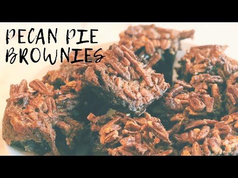 """How to Bake Pecan Pie – AKA """"CRACK"""" – Brownies!   Cooking for Beginners   GENIUS BAKING"""