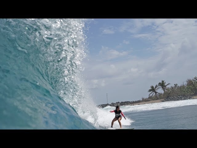 HAWAIIAN TROPIC GIRLS SURFING CIRCUIT DOMES 2018 EPISODIO 1