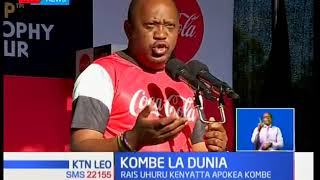Rais Uhuru Kenyatta apokea Kombe la Dunia lililowasili Kenya