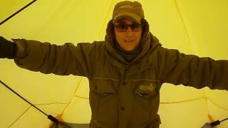 Палатка зимняя утепленная юрта yellow helios