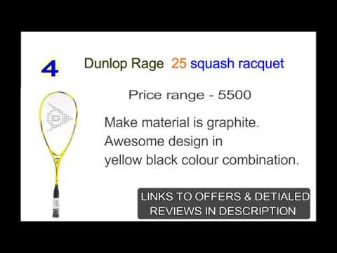5 Best Squash Rackets In India