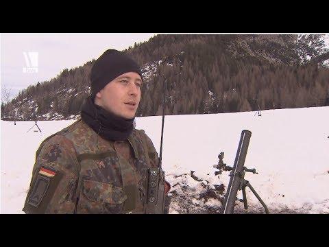 Mörser 120 mm - Steilfeuer in den Alpen