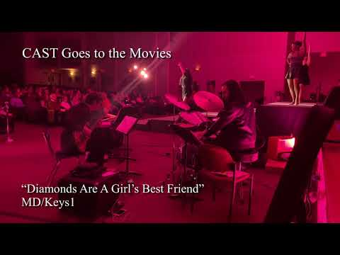 Diamonds Are A Girl's Best Friend from CAST Goes to the Movies 2019  MD / Keys - Cheong Kim ( CASEY HEYO)