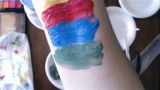 Easy 2 Ingredient DIY Face Paint