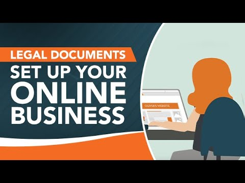 What Legal Documents Do I Need to Set Up My Online Business? | LegalVision