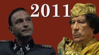2011 Downfall Reenactments: Fegelein vs. Muammar Gaddafi