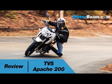 2016 TVS Apache 200 Review | MotorBeam
