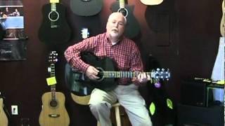 Northwest Guitars: Rainsong JM1000 acoustic electric guitar