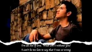Air Supply - All Out of Love - Lyrics on screen and in description
