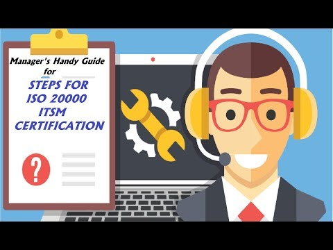 ISO 20000 Certification   ITSM Consultant - YouTube