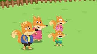 Fox Family Сartoon for kids #501