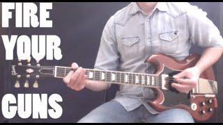 AC/DC - FIRE YOUR GUNS (Guitar Cover ANGUS & MALCOM parts)