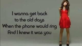 2) Get Back - Demi Lovato (Lyrics)