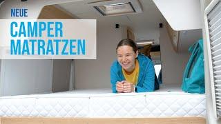 Neue MATRATZEN fürs WOHNMOBIL | Flexima | Matratzen-Manufaktur | Besser schlafen im Camper