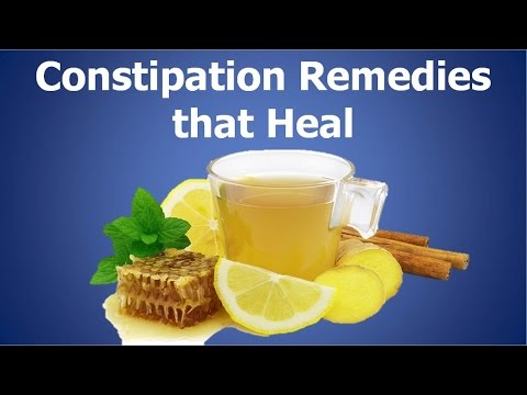 Video Constipation Remedies That Heal: Stop Constipation With This Unique Way of Eating