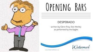 OB ‣ Desperado - The Eagles (Piano Tutorial)