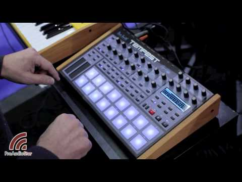 roger linn jams on the dave smith tempest analog drum machine synthtopia. Black Bedroom Furniture Sets. Home Design Ideas