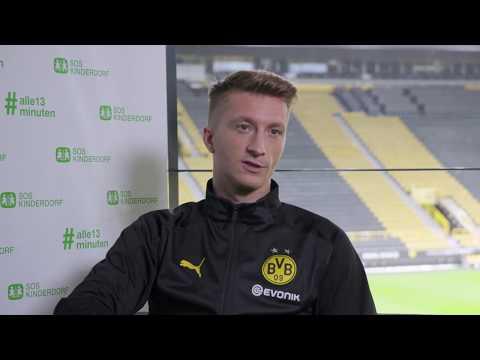 Marco Reus unterstützt SOS-Kinderdorf