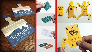 100+ Inspiring Examples Of Creative Business Cards