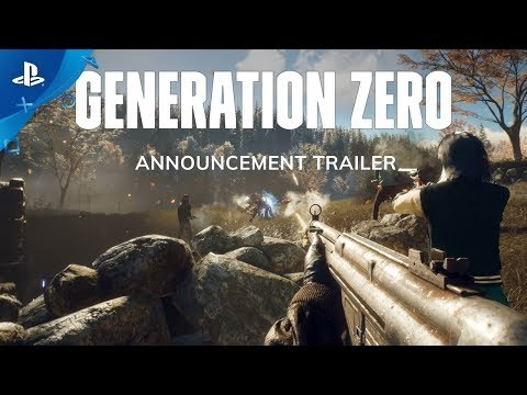Generation Zero – Announcement Trailer | PS4