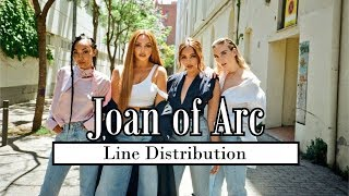 Little Mix   Joan Of Arc [Line Distribution]