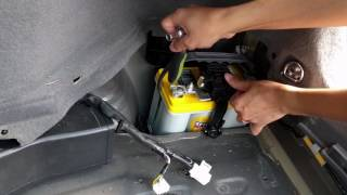 2nd Gen Prius 12V Battery Installation Step by Step Tutorial