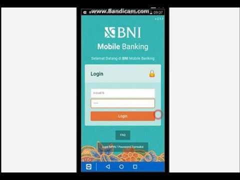 Cara Isi Ulang Pulsa via Bni Mobile Banking