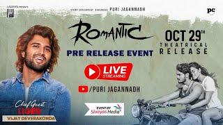 Romantic Movie Pre Release Event Live | Akash Puri | Vijay Deverakonda | PuriJagannadh |Charmme Kaur