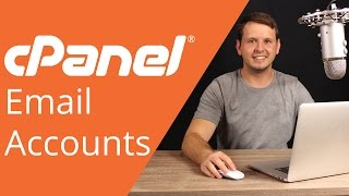 cPanel beginner tutorial 11 - Creating an email account