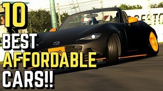 TOP 10 best AFFORDABLE cars in GT SPORT!!