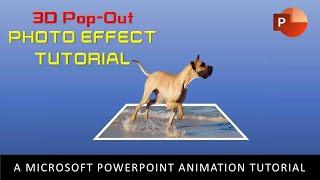 Efek Foto Pop-Out 3D | Tutorial PowerPoint Gerak PowerPoint 2016
